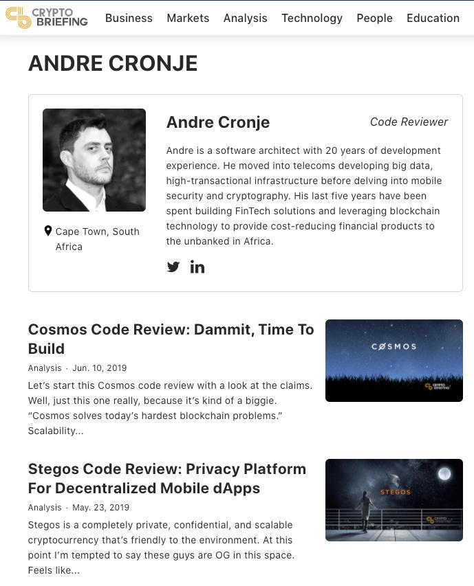 币世界-其实,YFI已经是Andre Cronje参与的第6个项目了