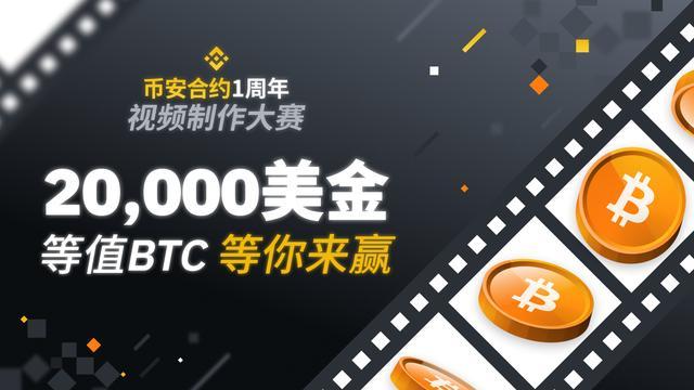币安合约一周年视频制作大赛,赢取20,000美金等值BTC插图