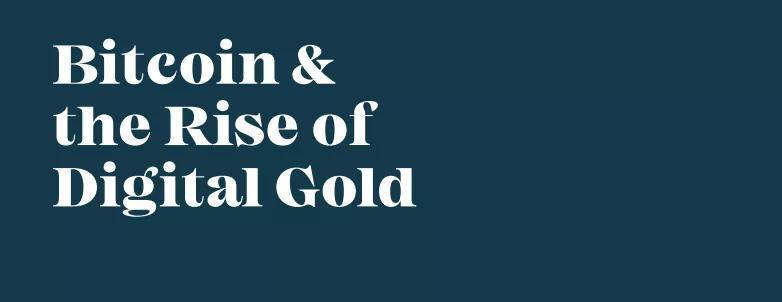 比特币与数字黄金的崛起