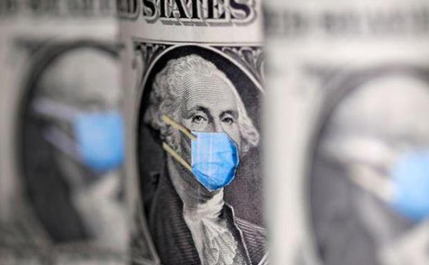 路透社:受经济刺激计划影响,美元暴跌,比特币创历史新高