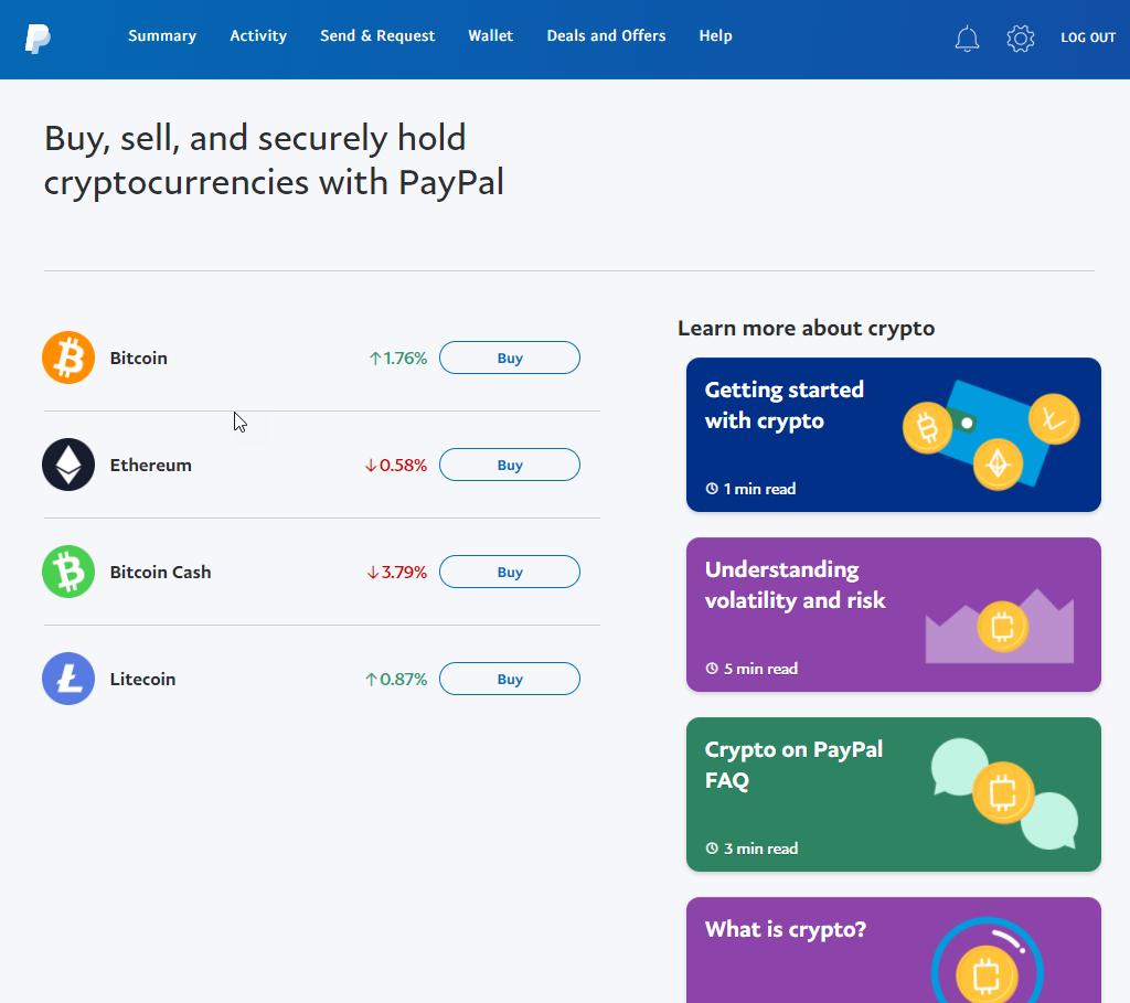 如何使用PayPal购买比特币(更新2021)插图2
