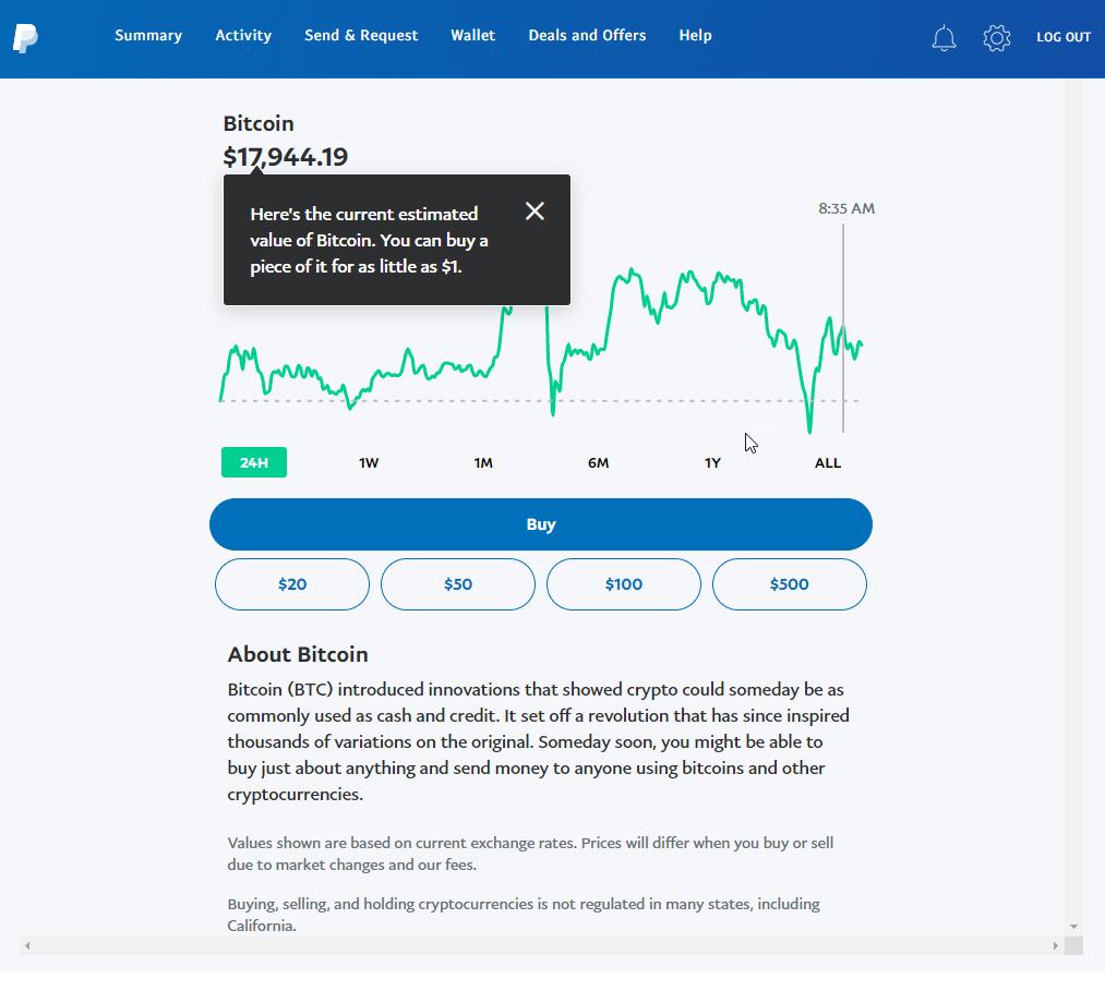 如何使用PayPal购买比特币(更新2021)插图3