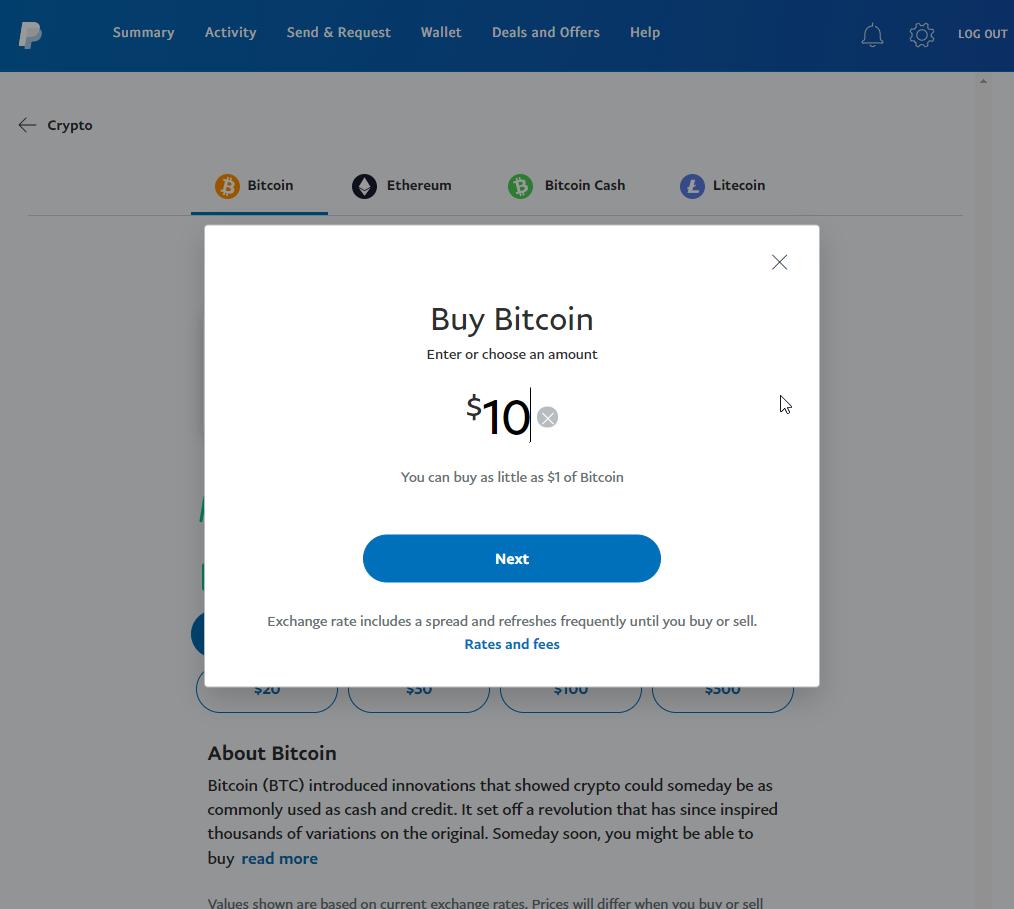 如何使用PayPal购买比特币(更新2021)插图5