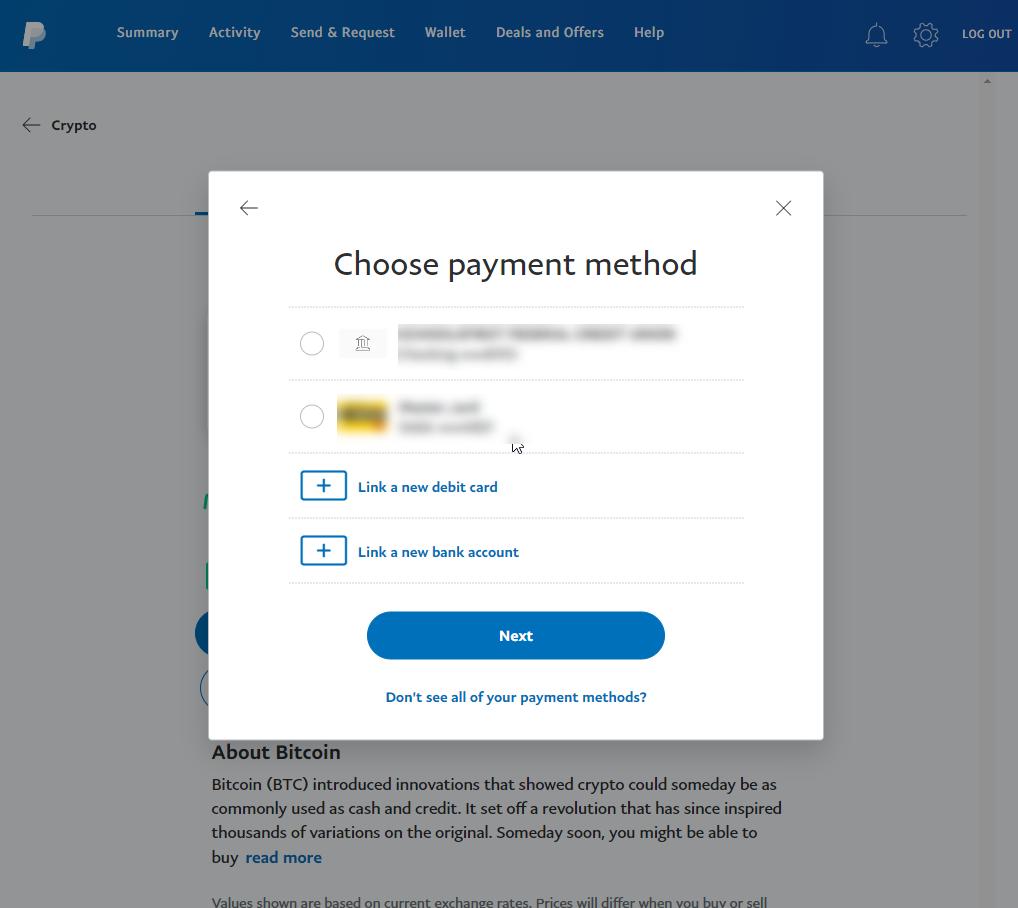如何使用PayPal购买比特币(更新2021)插图6