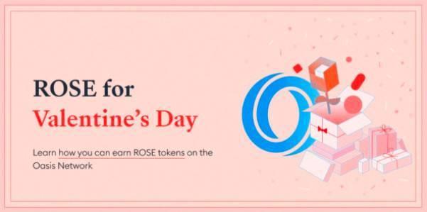 情人节赢玫瑰:4 种方式教你在 Oasis 网络赚取 ROSE 代币
