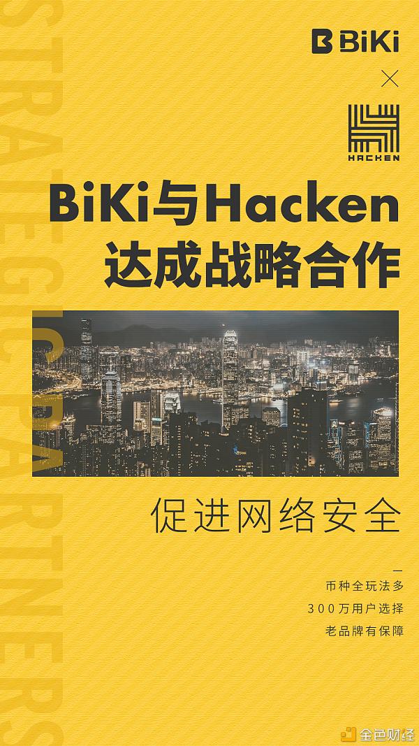 BiKi联手网络安全公司Hacken 共同加强平台安全机制