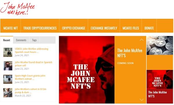 杀软之父、阴谋论、加密货币 McAfee的狂野人生