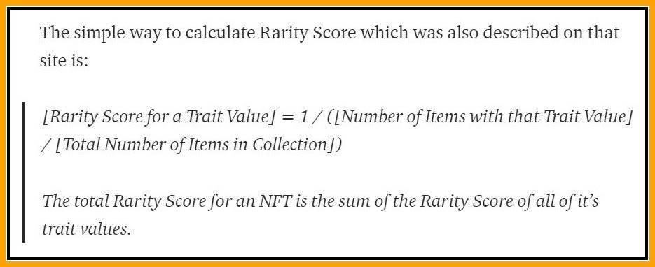 NFT收藏品如何辨别稀有度?这个工具可以帮你大忙