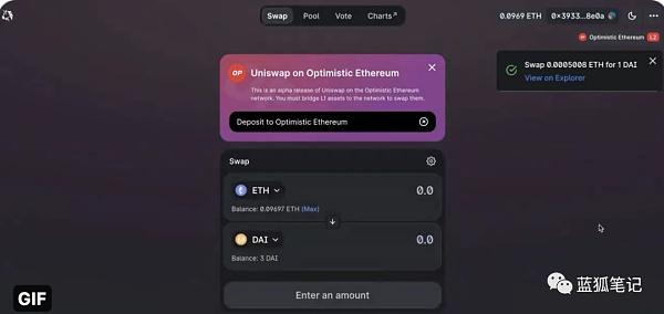 Uniswap V3启动Layer 2版本