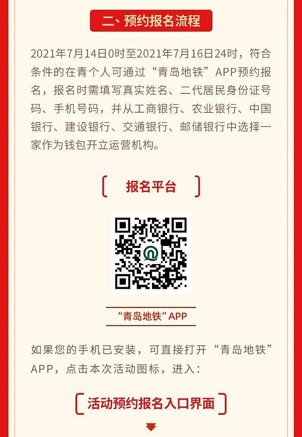 青岛开启第一轮数字人民币红包活动