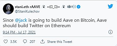 DEFI巨头AAVE的加密社交梦想:创造一个去中心化的Twitter