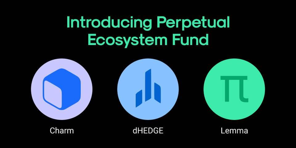 Perpetual Protocol 生态基金发布,首批集成 Charm、dHEDGE 与 Lemma