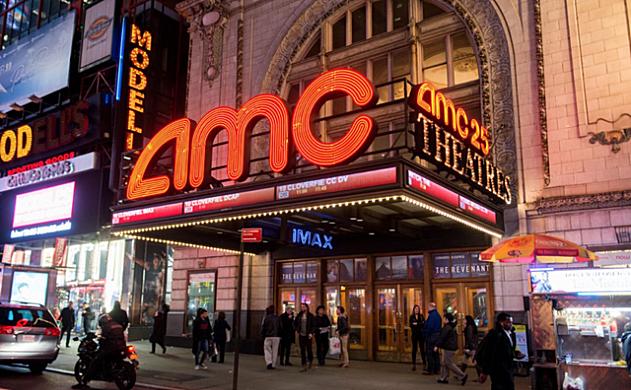 美国最大连锁影院AMC年底前接受比特币购买电影票