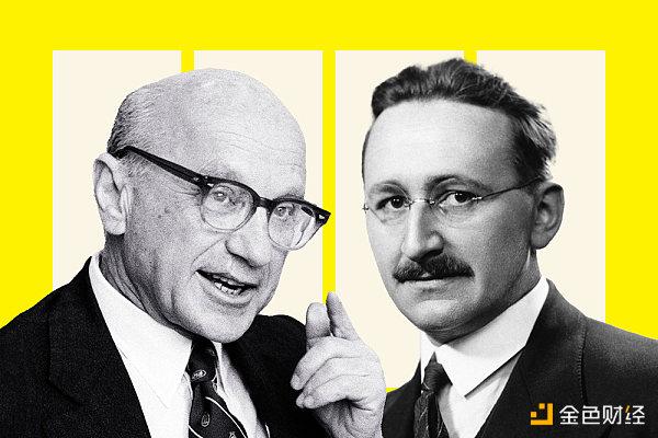 如果弗里德曼和哈耶克还活着:他们会怎样看待比特币?