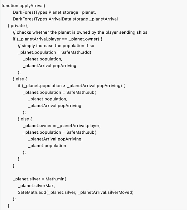 Dark Forest :采用零知识证明技术的游戏