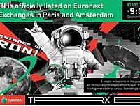 波场代币基金(VTRX)在巴黎及阿姆斯特丹泛欧交易所挂牌上市