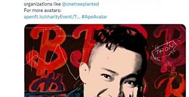 孙宇晨等认领ApeAvatar头像 APENFT将捐赠15000美元
