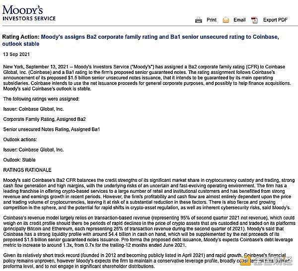 观察| Coinbase因20亿美元的债券再次受到市场热捧