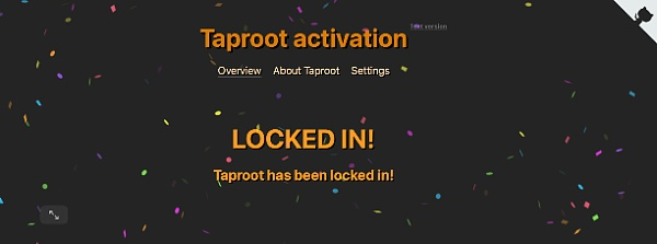 比特币将迎来Taproot升级 将带来哪些变化?